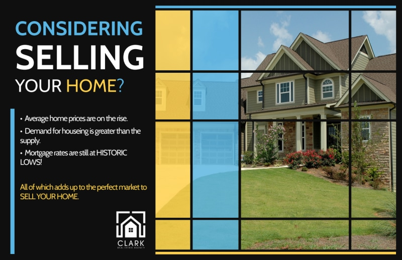 Real Estate Considering Selling Postcard Template Preview 2