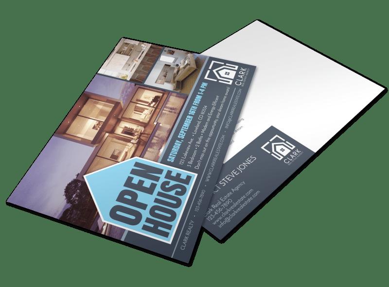 Loveland Open House Postcard Template Preview 1