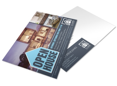 Loveland Open House Postcard Template preview