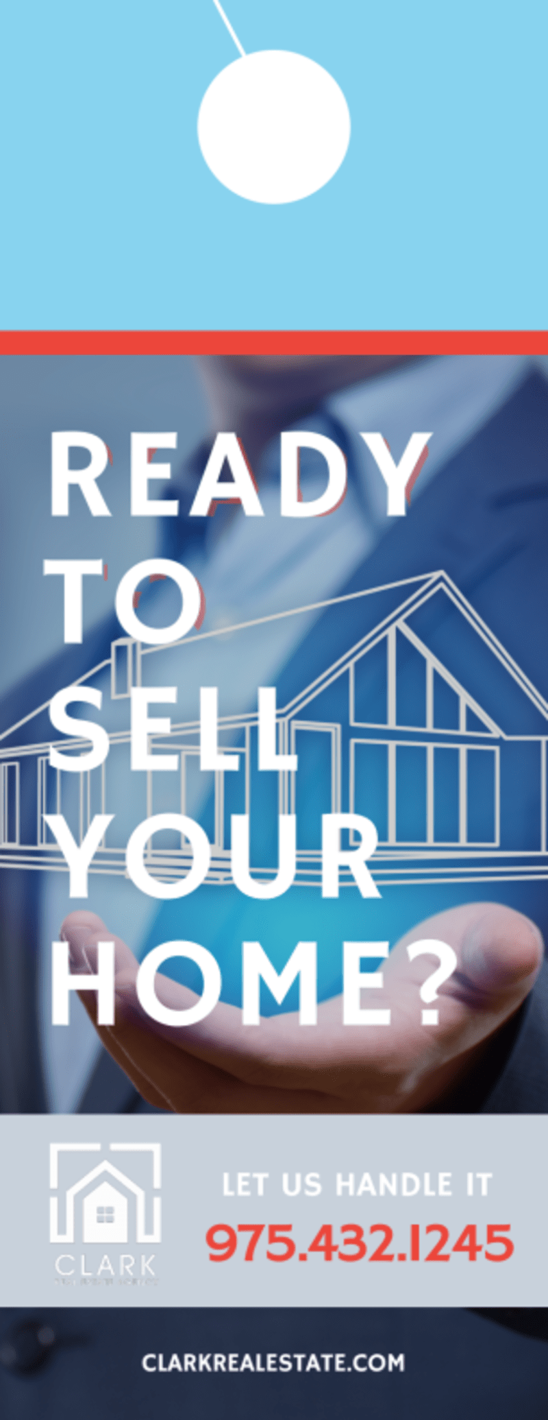 Ready To Sell Your Home - Door Hanger Template Preview 2