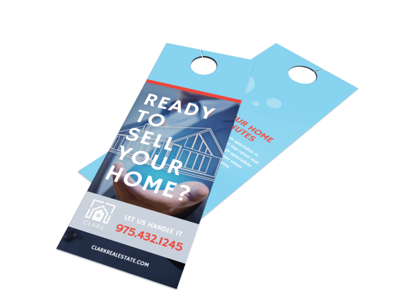 Ready To Sell Your Home - Door Hanger Template Preview 1