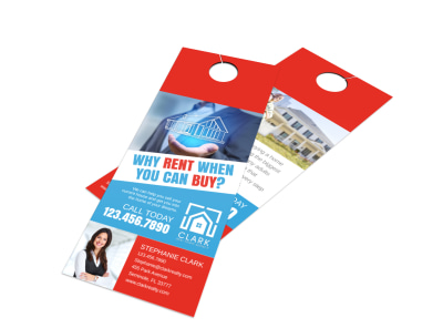 Buy VS Rent Door Hanger Template