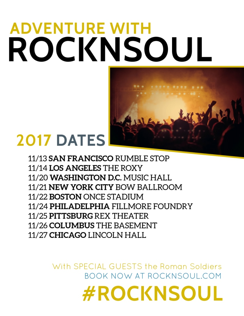 Band Tour Dates Flyer Template Preview 3