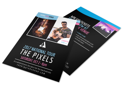 The Pixels Rock Flyer Template