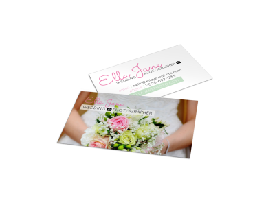 Wedding Business Card Templates Template Preview