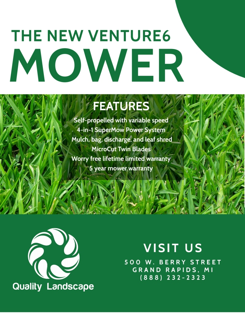 Lawn Mower About Us Flyer Template Preview 3