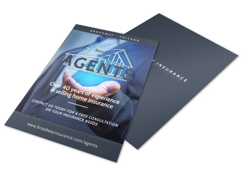Home Insurance Agency Flyer Template