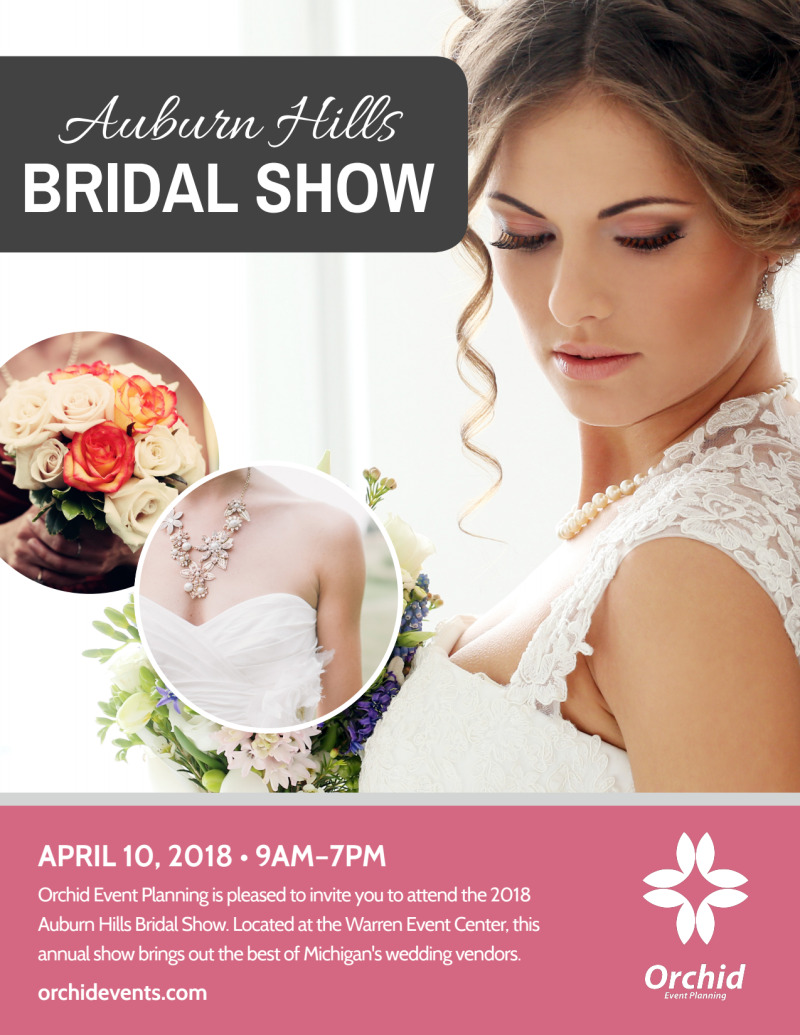 Fashion Bridal Show Flyer Template Preview 2