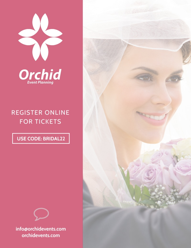 Fashion Bridal Show Flyer Template Preview 3
