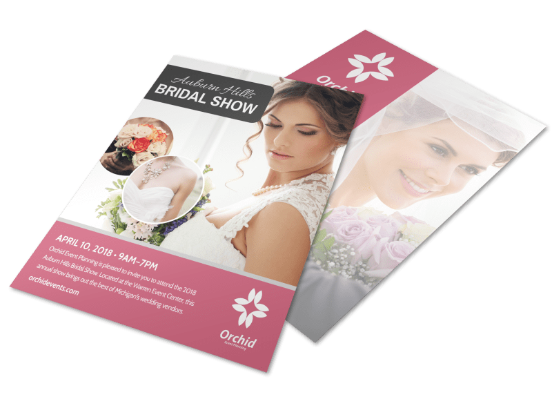 Fashion Bridal Show Flyer Template Preview 1