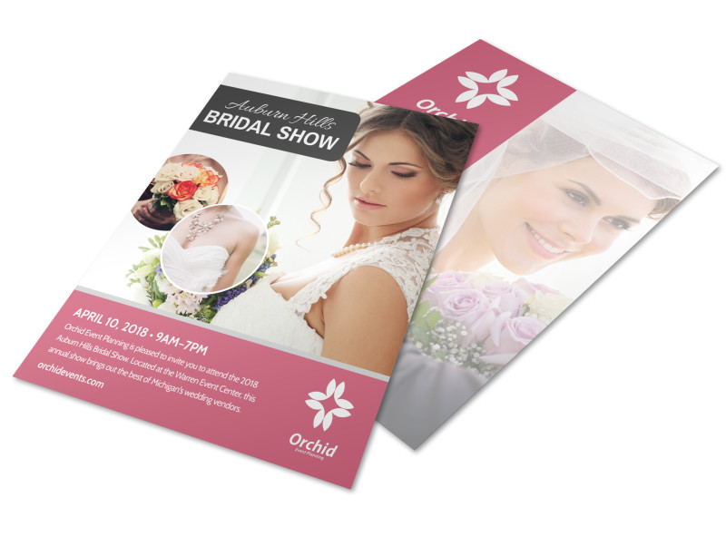 Fashion Bridal Show Flyer Template