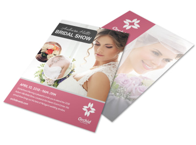 Fashion Bridal Show Flyer Template preview