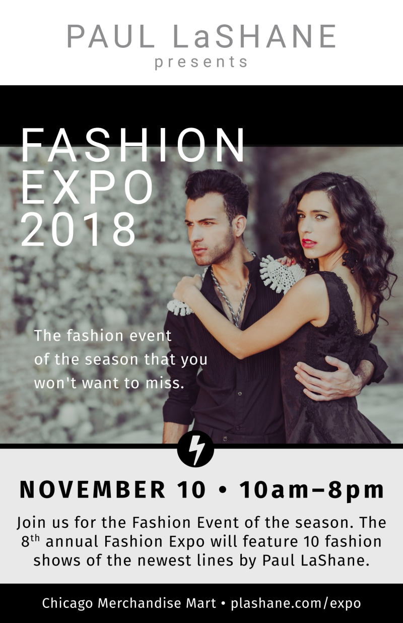Fashion Expo Poster Template Preview 2