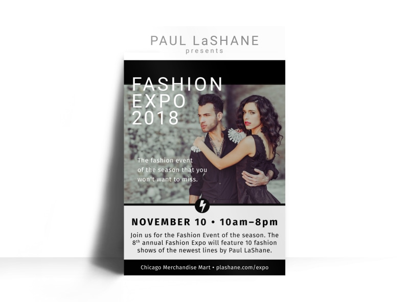 Fashion Expo Poster Template Preview 3