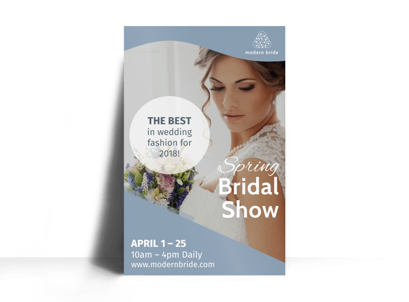 Fashion Bridal Show Poster Template Preview 1