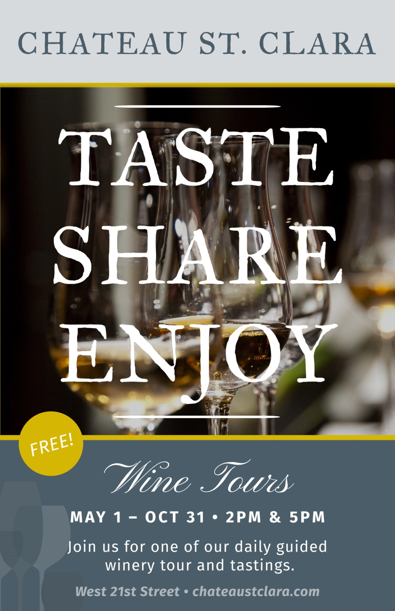 St. Clara Wine Tasting Poster Template Preview 2