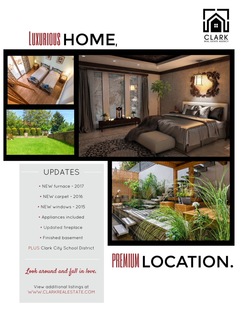 Welcome Home Open House Flyer Template Preview 3