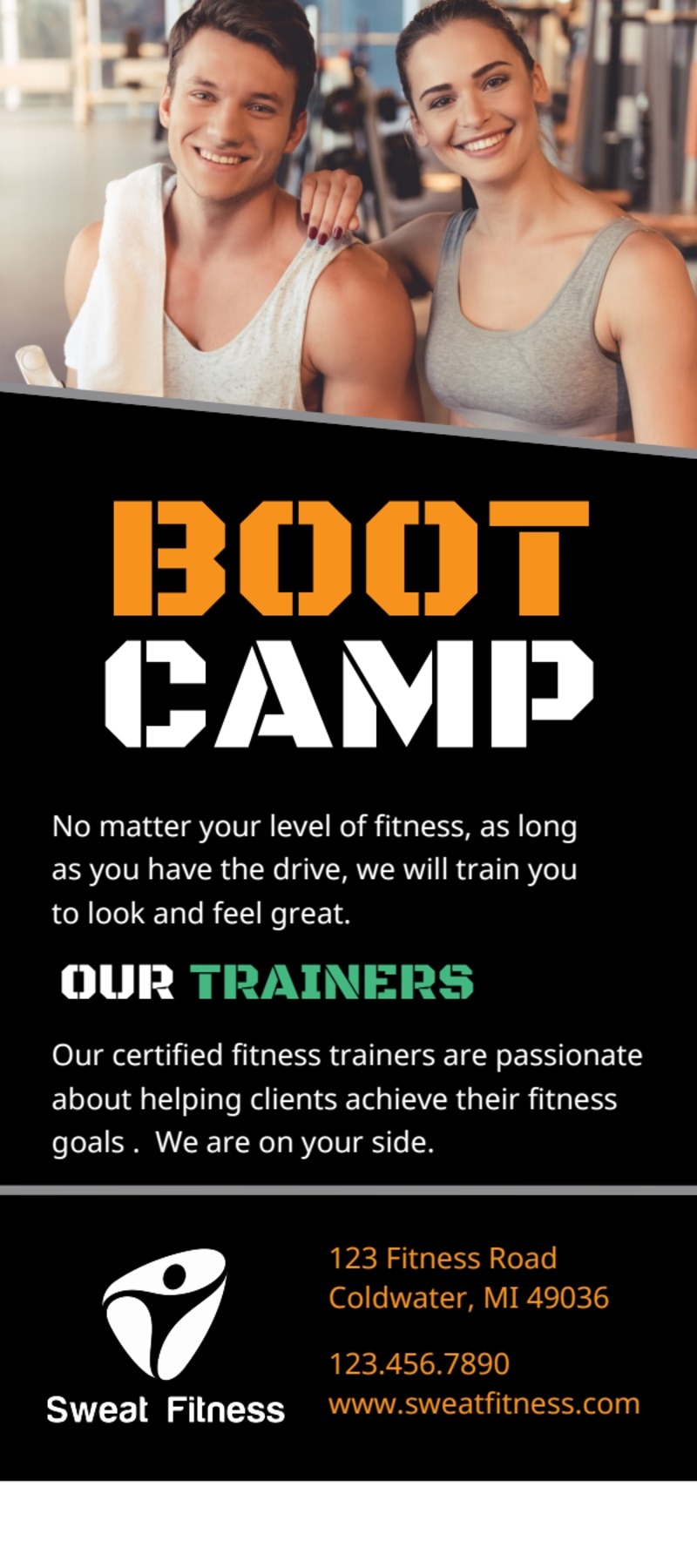 Fitness Boot Camp Flyer Template Preview 3