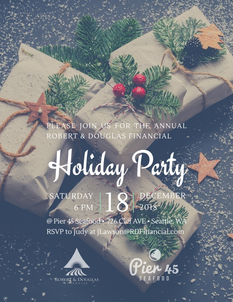 Christmas Party Flyer.Christmas Holiday Party Flyer Template