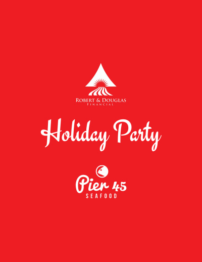 Christmas Holiday Party Flyer Template Preview 2