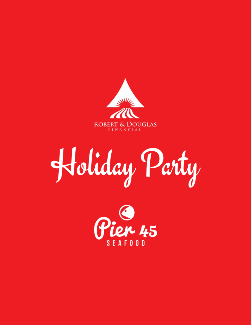 Christmas Holiday Party Flyer Template Preview 3