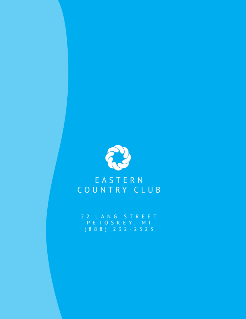 Country Club Pool Party Flyer Template Preview 3