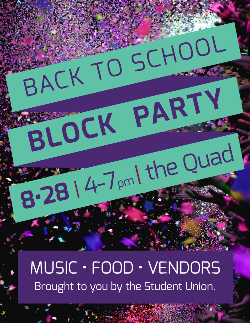 Back To School Party Flyer Template Preview 2