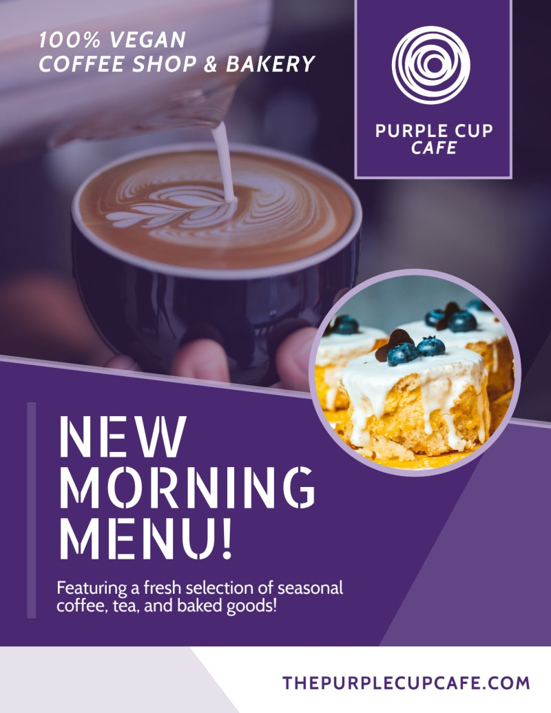 New Morning Menu Coffee Flyer Template Preview 2