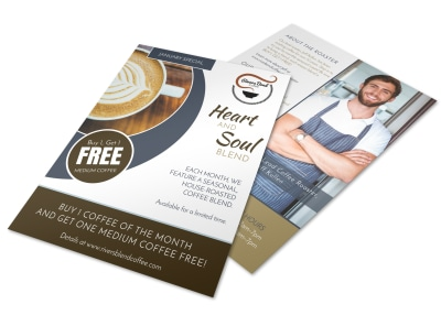 BOGO Coffee Flyer Template