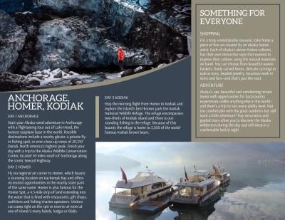 Travel Alaska Tri-Fold Brochure Template Preview 2