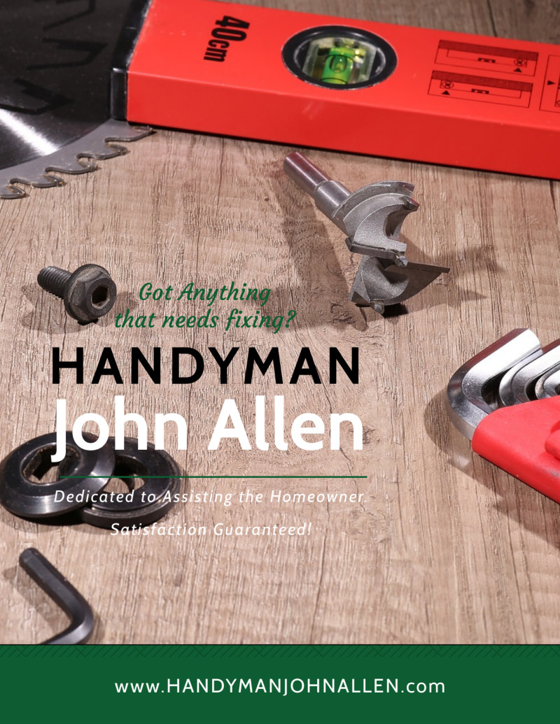 Handyman Services Offered Flyer Template Preview 2