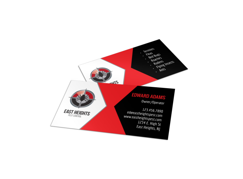 cleaning business card templates