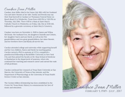 Catholic  Funeral Program Bi-Fold Brochure Template Preview 1