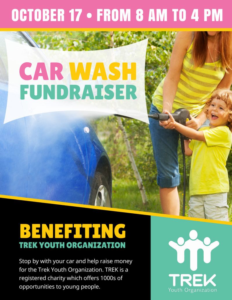 Youth Car Wash Fundraiser Flyer Template Mycreativeshop