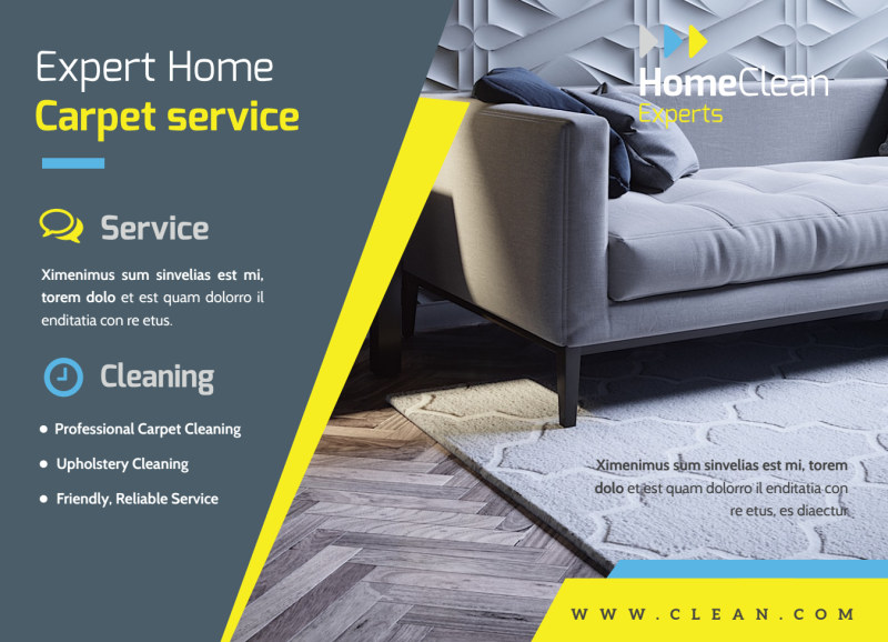 Cleaning Service EDDM Postcard Template Preview 2