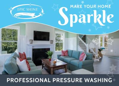 Pressure Washing EDDM Postcard Template Preview 1