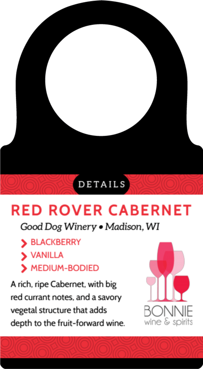 Wine Details Bottle Tag Template Preview 2