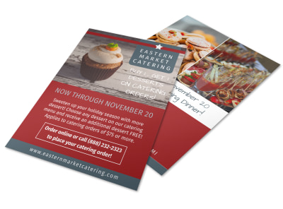 Catering Promotional Sale Flyer Template preview