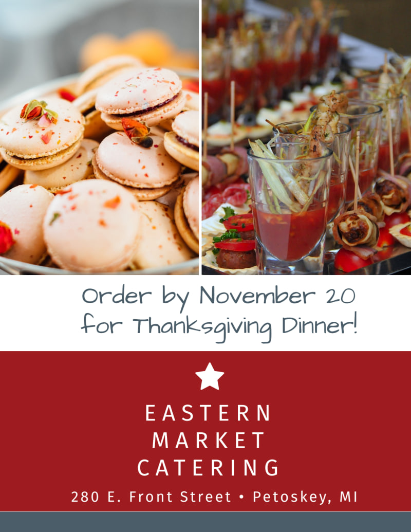 Catering Promotional Sale Flyer Template Preview 3