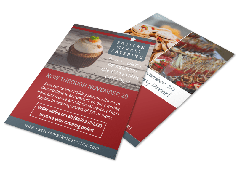 Catering Promotional Sale Flyer Template Preview 1