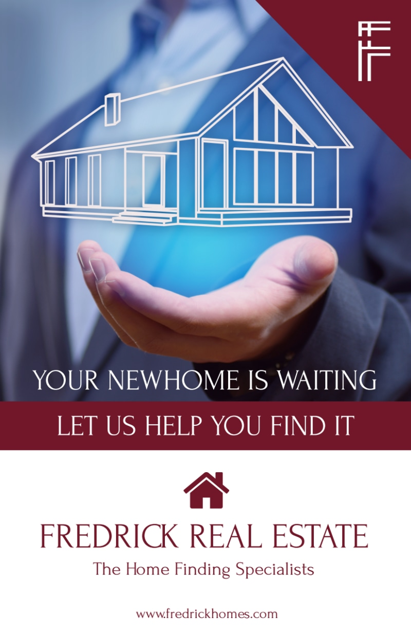 Fredrick Real Estate Open House Flyer Template Preview 2