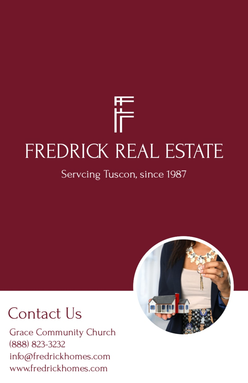 Fredrick Real Estate Open House Flyer Template Preview 3