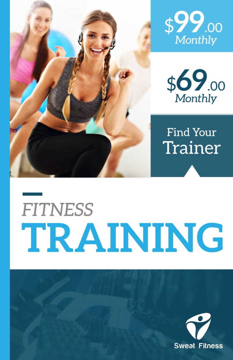 About The Trainers Flyer Template Preview 2