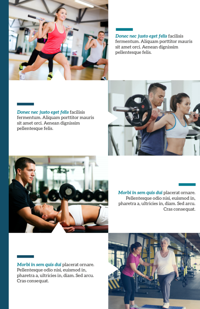 About The Trainers Flyer Template Preview 3