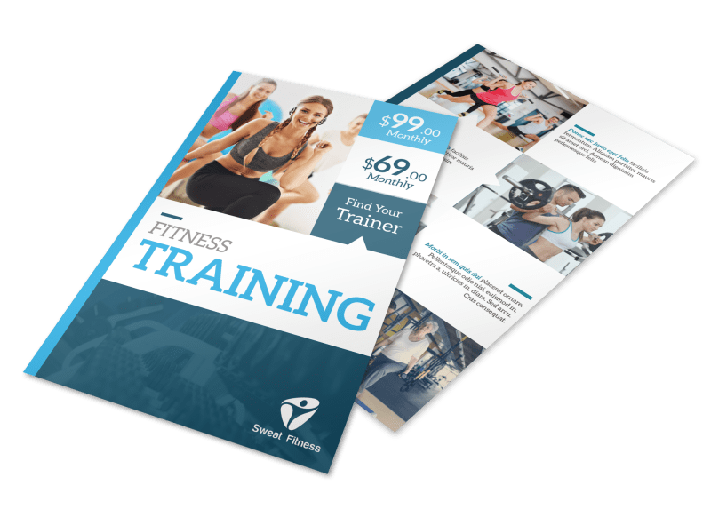 About The Trainers Flyer Template Preview 1