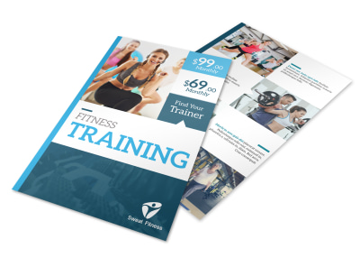 About The Trainers Flyer Template preview