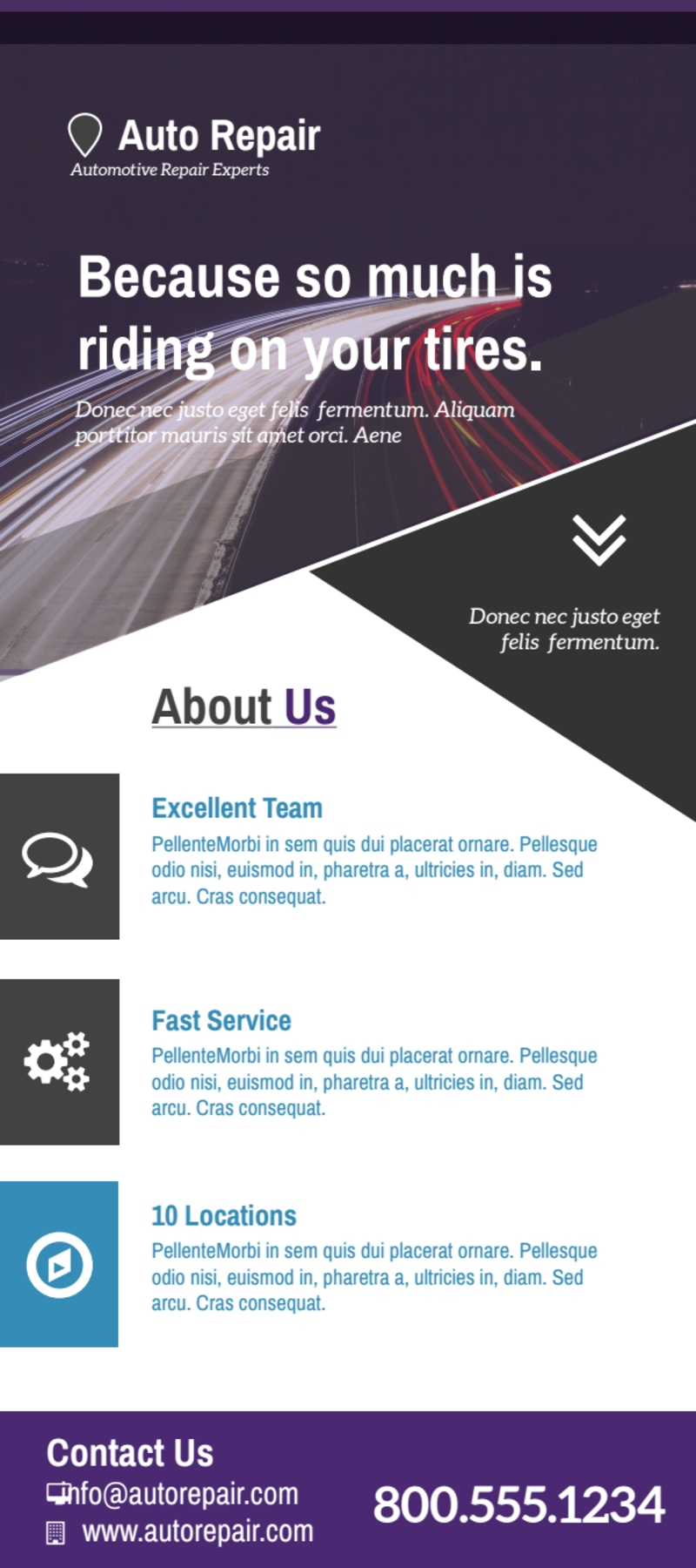 Great Auto Repair Flyer Template Preview 2