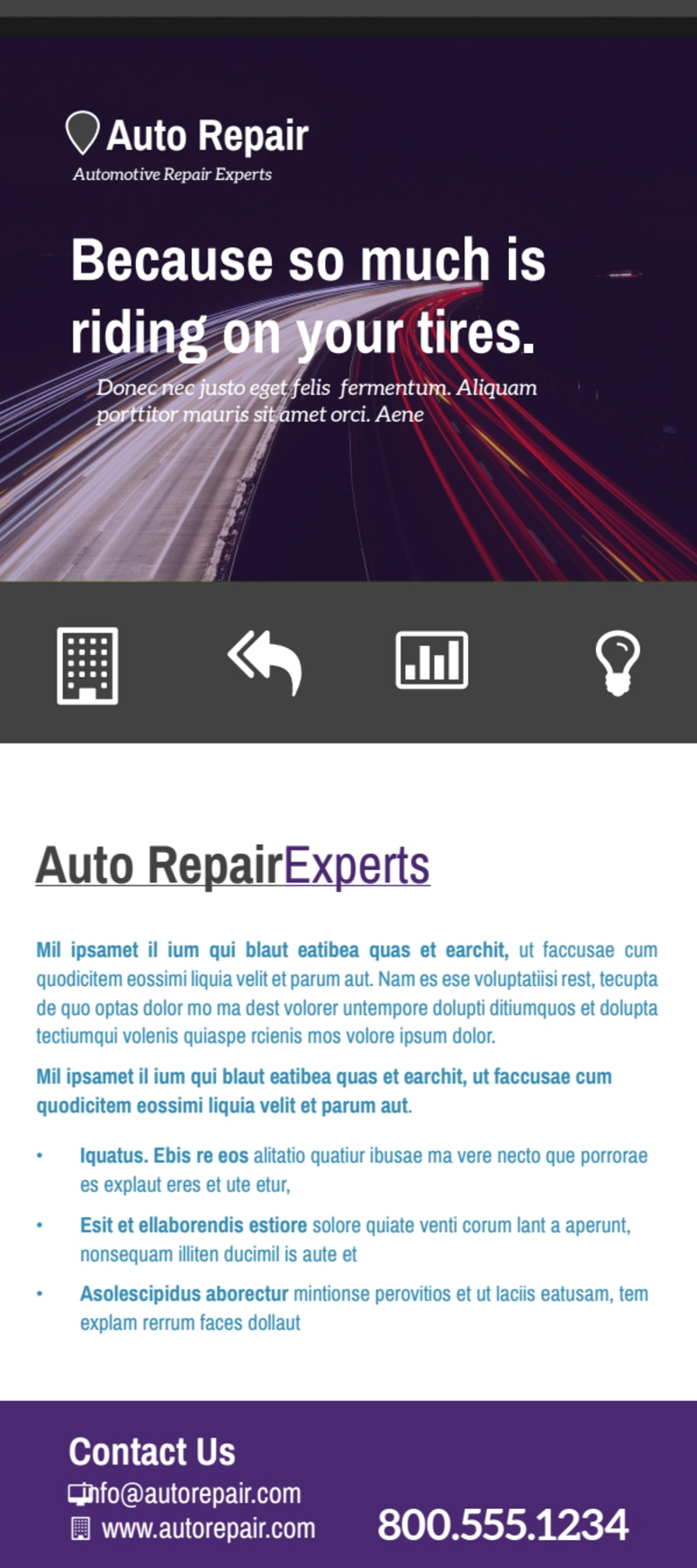 Great Auto Repair Flyer Template Preview 3