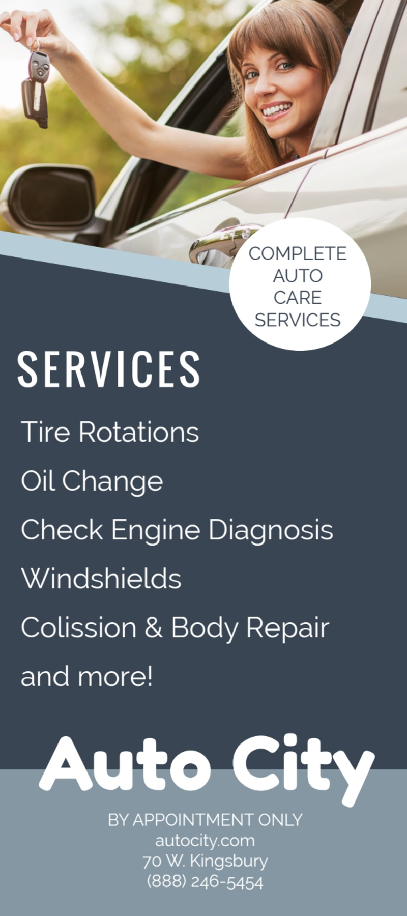 Auto City Repair Flyer Template Preview 3