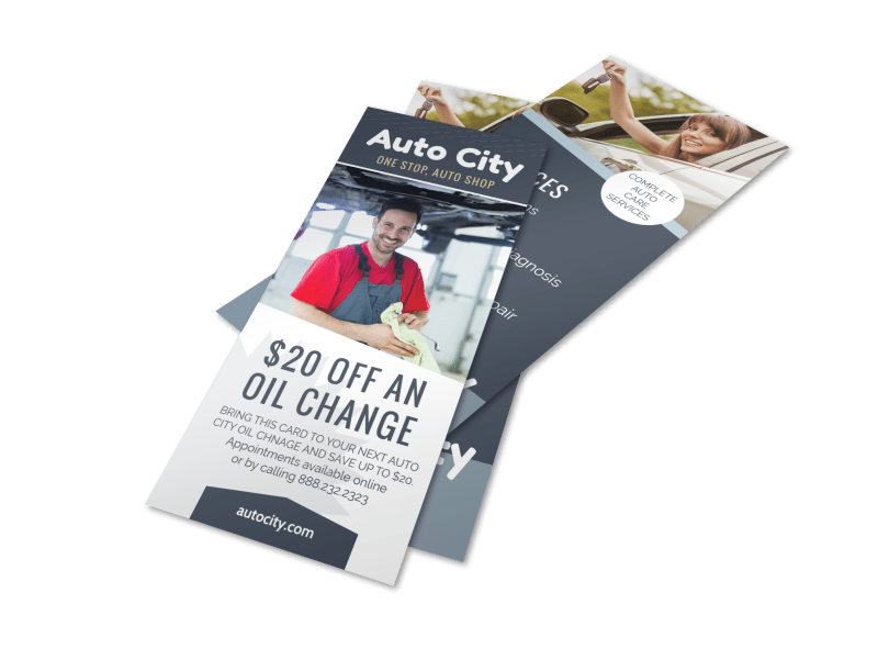 Auto City Repair Flyer Template Preview 1